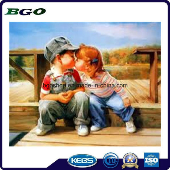 "Home Decoration Cotton Twill Painting Polyester Canvas (30""X30"" 3.8cm) pictures & photos"