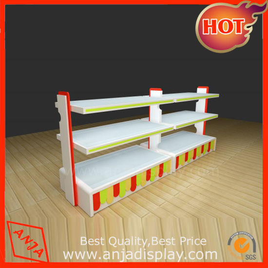 New Design Wholesale Gondola Shoes Display Shelves for Shop pictures & photos