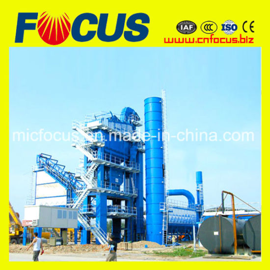 Lb1000 80tph Stationary Bitumen Asphalt Batch Mix Plant for Sale pictures & photos