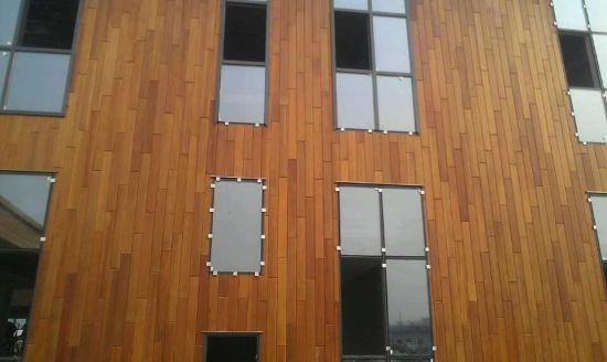 China Exterior Wall Panels Made of Natural Wester Red Cedar - China ...