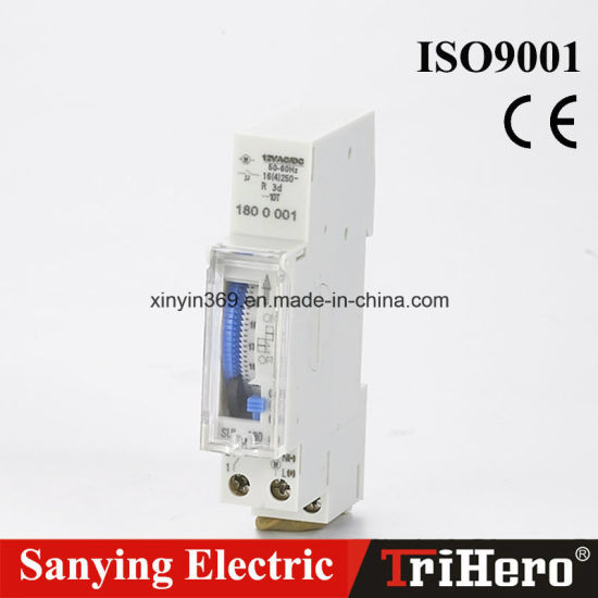 china 24 hour mechanical time switch sul180a china time switch