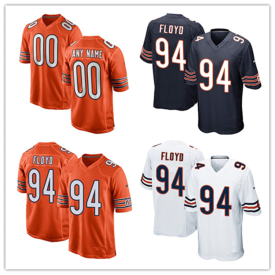 53de86e17398f8 China Men Women Youth Bears Jerseys 94 Leonard Floyd Football ...