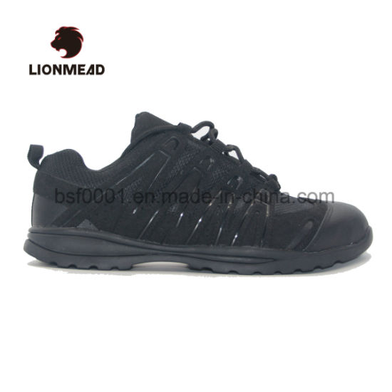 Steel Toe Leather Hard Industrial Safety Shoes for Working