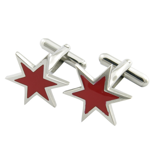 Men's Stainless Steel Metal Cufflinks