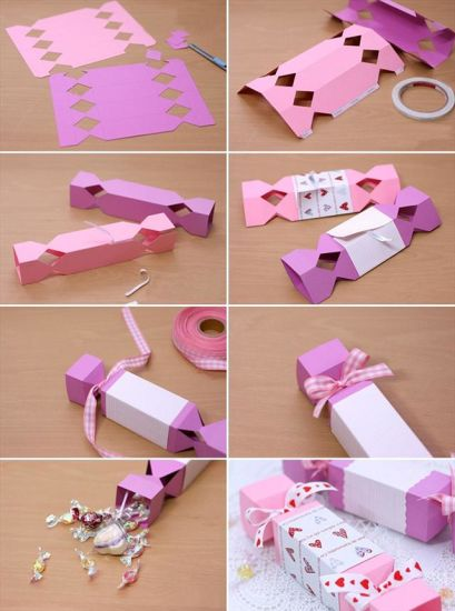 China Homemade Valentine Gift Wrapping Ideas Paper Candy Box China