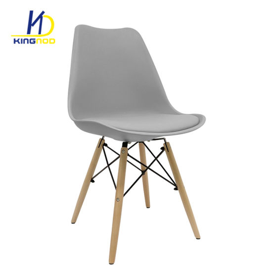 modern chair plastic. Plastic Back PU Seat Metal Frame Leg Indoor Leisure Dining Chairs Modern Chair