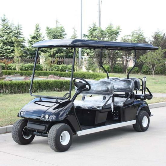 China OEM Manufacturers 6 Seater Electric Golf Car with Ce Dg-C4+2 pictures & photos