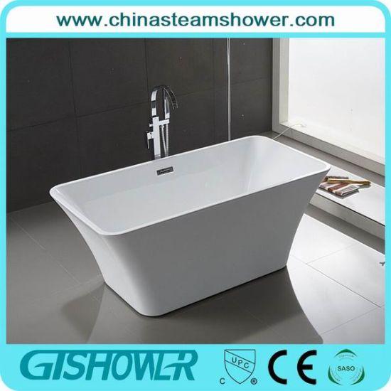 China Economic American Standard Acrylic Bathtub Kf 717b China