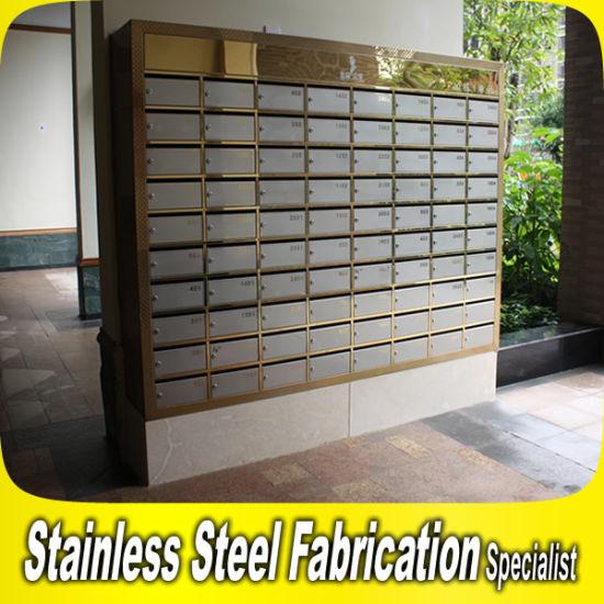 China Custom Made Residential Apartment Building Mailbox - China ...