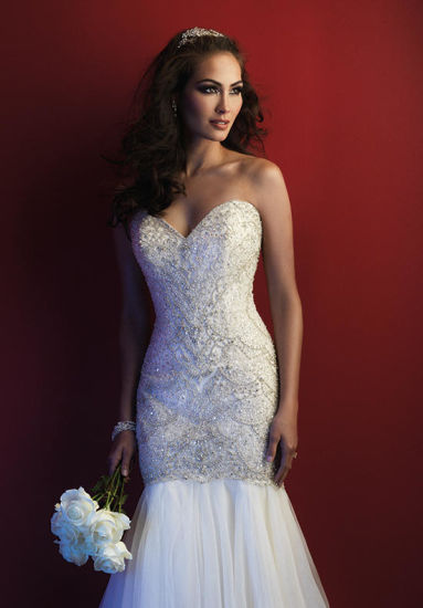 Latest High Quality Tulle Mermaid Trumpet Wedding Dress (Dream-100028) pictures & photos