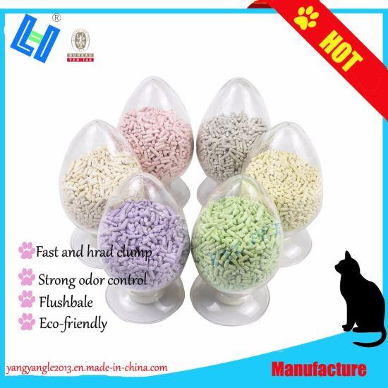 Hard Clump and Strong Odor Control Tofu Cat Sand Litter