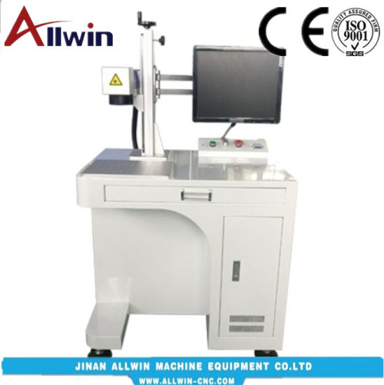 20W Desktop Fiber Laser Marking & Engraving Machine pictures & photos