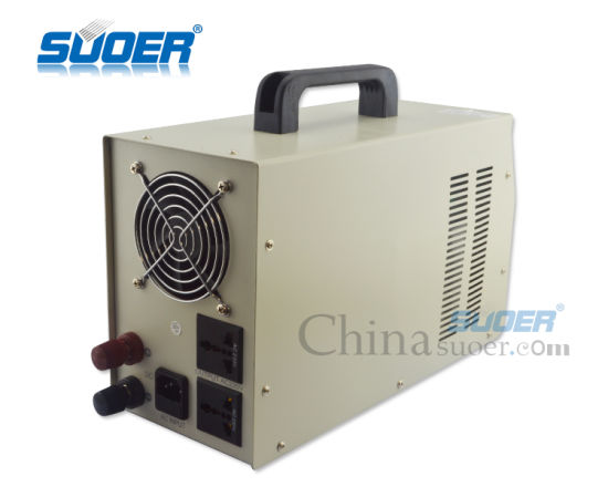 Suoer High Frequency UPS Pure Sine Wave Inverter 2000W Inverter with Charger (HPA-2000C) pictures & photos