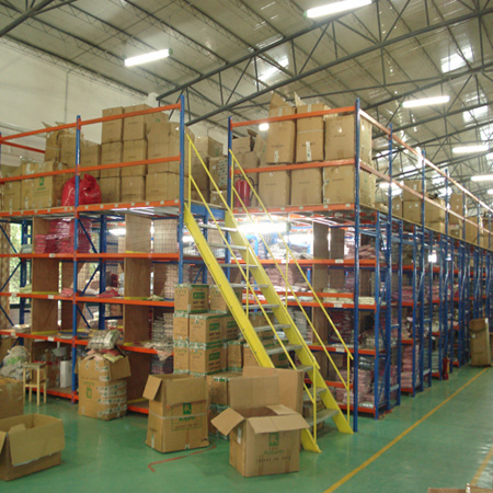 Pallet Shelving Supported Mezzanine Racking pictures & photos