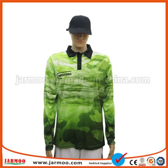 Free Design Custom Printing Long Sleeve Polo Shirt T Shirt