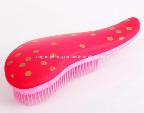 Best Selling Plastic Detangle Brush Hairbrush for Girl