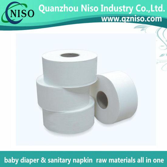 Natural Jumbo Roll Carrier Tissue Paper for Diaper (JM-015)