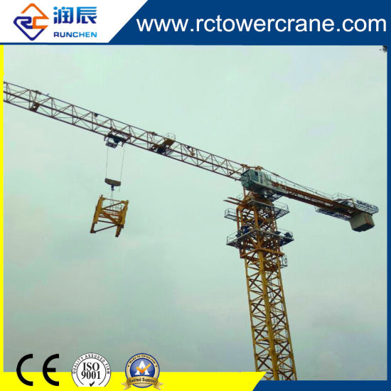 6520-12 Self Erecting Topless Tower Crane for Construction