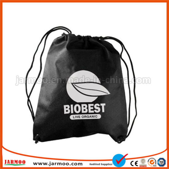 Heavy Duty Wholesale Promotion Fabric Drawstring Bags