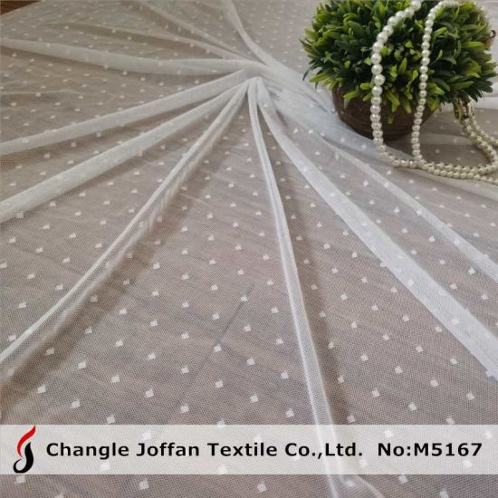 Stretch Elastic Lace Fabric Mesh Fabric Lace Voile Lace (M5167)