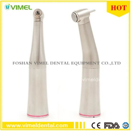Dental 1: 5 Increasing Speed Push Button Contra Angle