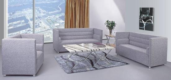Modern Hotel Bedroom Furniture Fabric Lobby Room Sofa With High Density Foam
