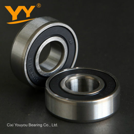 6202 Deep Groove Ball Bearing Single Row Ball Bearing Supplier pictures & photos