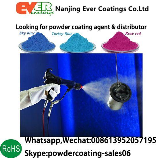 Electrostatic Spray Zinc Rich Primer Pure Epoxy Powder Coating Paint