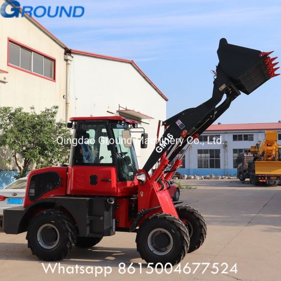 GM16 Durable Wheel Loader for Farmer Factory Price with EPA,CE
