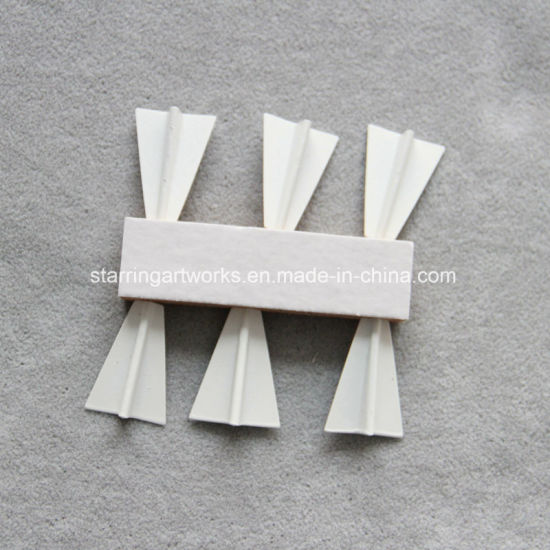china white steel airplane shape map marking officemate push pins