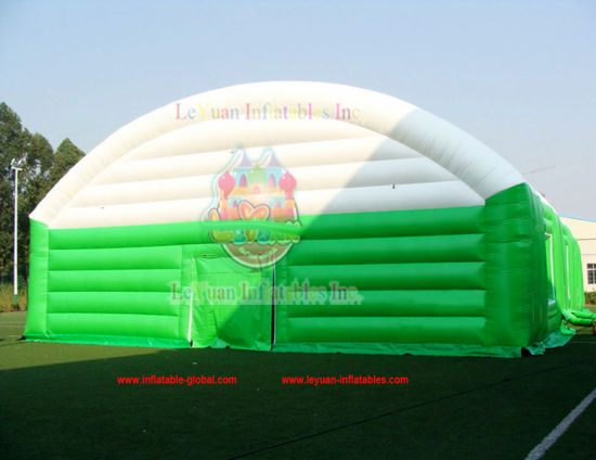 Custom Durable Fireproof Inflatable Big Tent Factory Price pictures & photos
