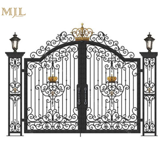 Best Quality Simple Indian House Steel Main Gate Designs Exterior Wrought Iron