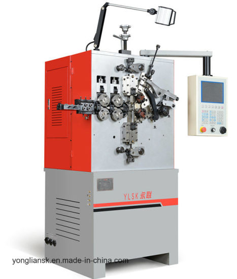 1.2 to 3.5 mm 3 Axis Automatic CNC Spring Coiling Machine