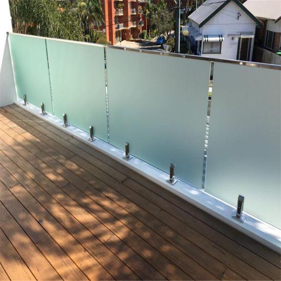 China Modern Design Frameless Glass Railing Spigot for Pool Fence ...