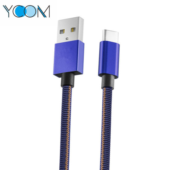 Ycom Fast Charging USB Data Cable for Type C