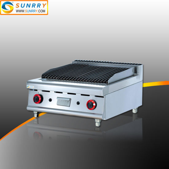 Heavy Duty Professional Industrial Lava Rock Gas Barbecue
