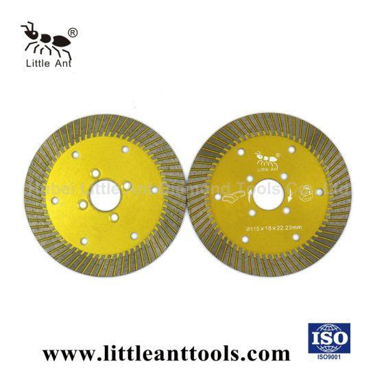 105 mm/ 114 mm Stone Turbo Diamond Saw Blade / Diamond Cutting Tool for General Purpose