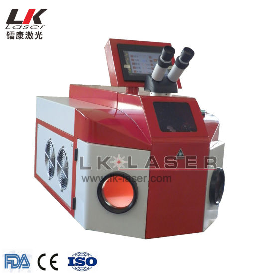200W Portable Jewelry Spot Laser Welding Equipment pictures & photos