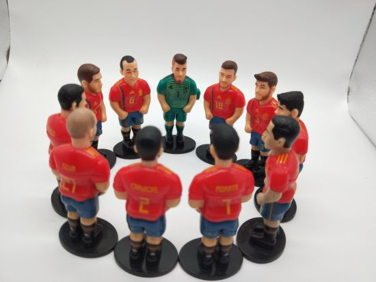 Mini Plastic Sport Soccer Star Figures for Wold Cup 2018 pictures & photos