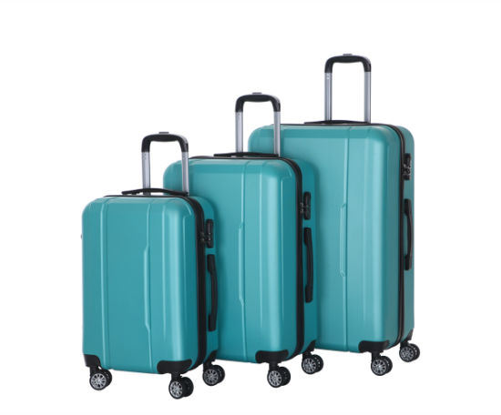 Small Hand Hard Shell Case Cabin ABS 4 Spinner Wheel Suitcase Trolley Luggage (XHA082)