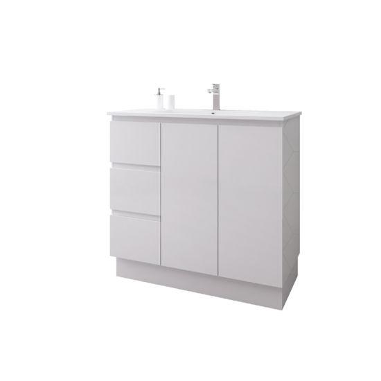 Ce Hotel PVC or MDF Materia Australia-Style Bathroom Vanity Cabinet