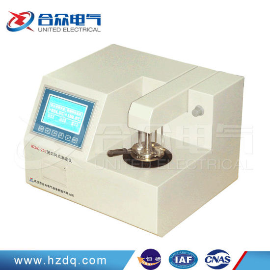 Insulation Oil Laboratory Equipment Closed Cup Flash Tester