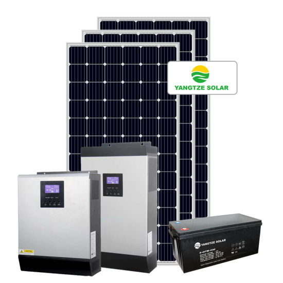 Yangtze 2kVA Full Home Hybrid Solar Power System Price pictures & photos