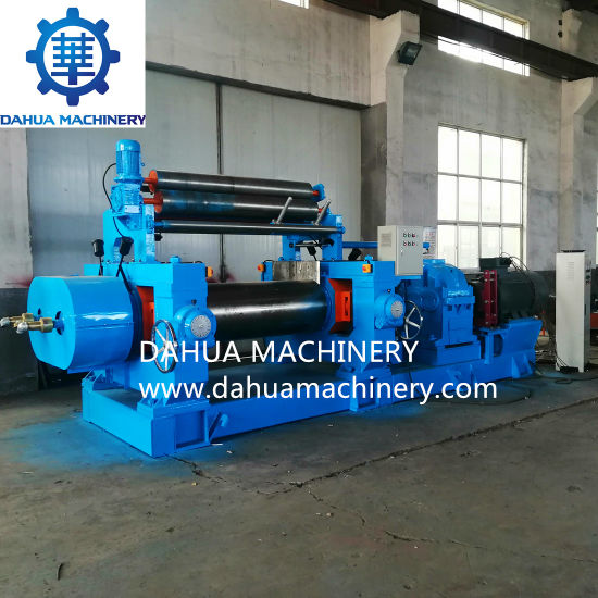 Advanced Stock Blender Xk-560 Type Open Mixing Mill / Rubber Sheets Making Machine
