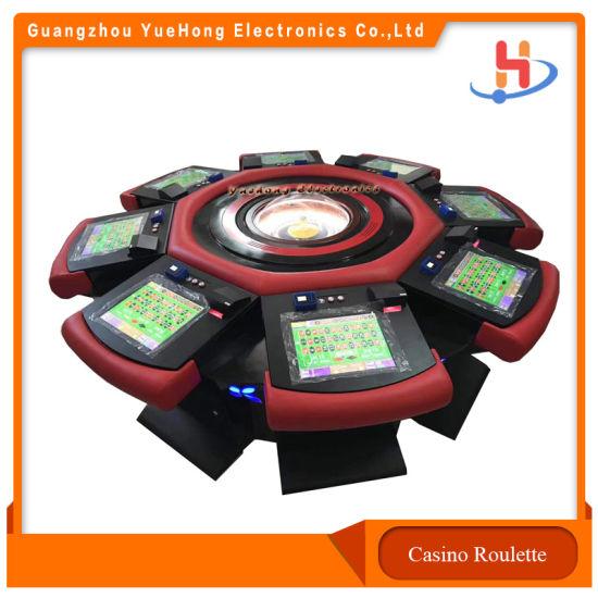 Popular International Russian Casino Mechanical Roulette with Jackpot Lucky Wheel