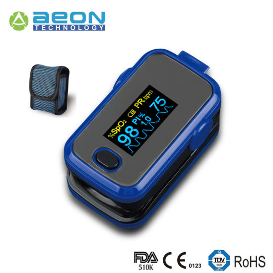 A310 Ce and FDA Approved Finger Pulse Oximetry Finger Oximeter with Alarm Function pictures & photos