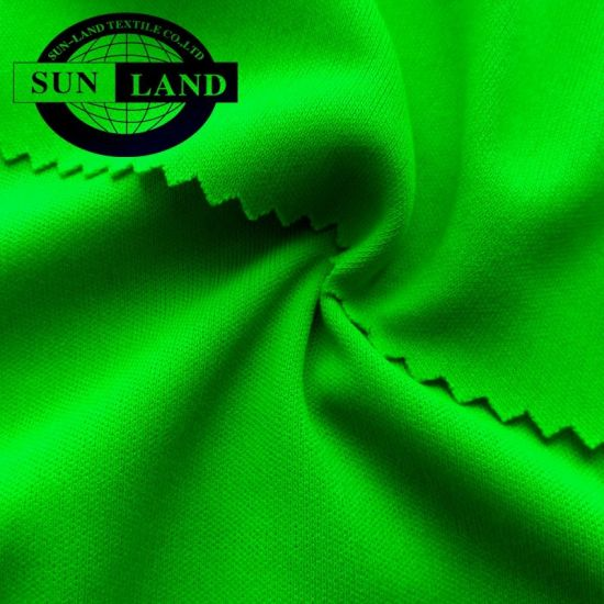 MOQ 200kg make to order 100% polyester knitted weft jersey interlock fabric