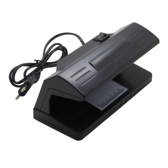 318 Banknote Counterfeit Money Detector UV Ultraviolet Blacklight Money Tester with on/off Switch EU Plug