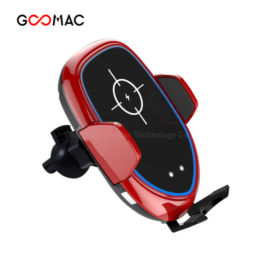 Automatic Holder Goomac 10W 7.5W Mobiles Phone Holder 10W Fast Wireless Car Charger