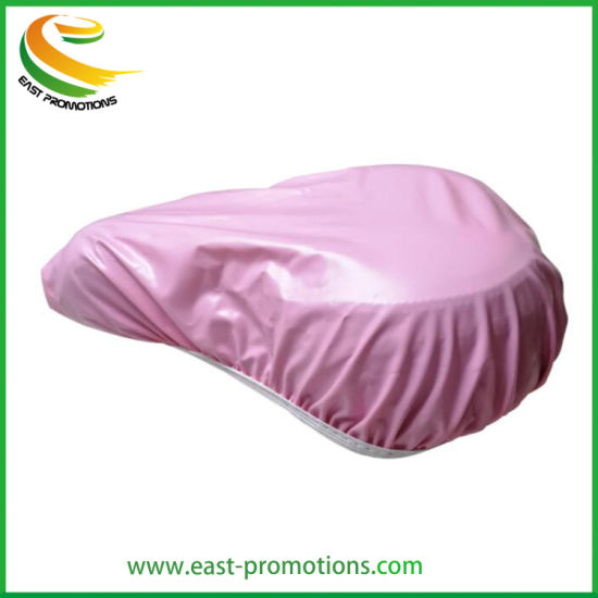 Custom Promotional PVC Waterproof Bicycle Saddle Seat Cover with Logo